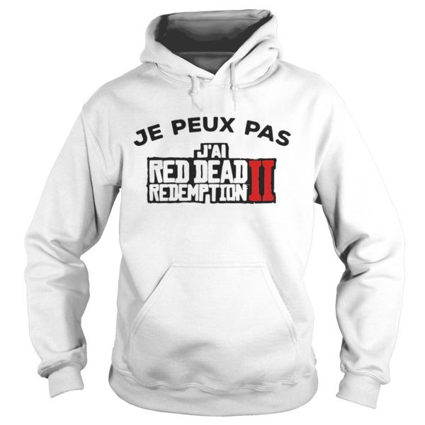 Je peux pas Jai red dead redemption II shirt Ladies V-Neck