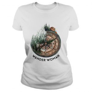 Wander woman loves camping shirt Classic Ladies Tee