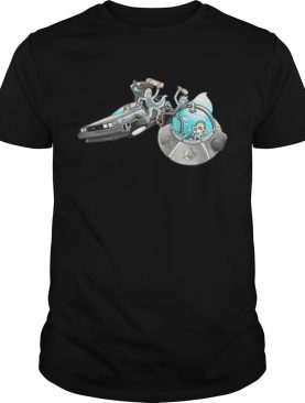 Rick and Morty back to the future shirt