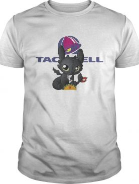 Night Fury Toothless Taco Bell shirt