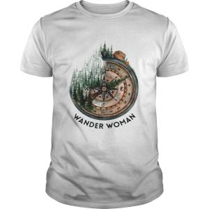 Wander woman loves camping shirt Shirt
