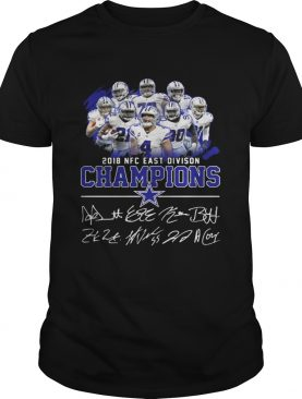 Dallas cowboys team 2018 NFC east division champions shirt