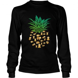 Sloth Pineapple shirt Longsleeve Tee Unisex