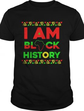 I am black history shirt