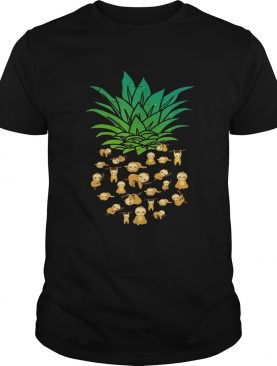 Sloth Pineapple shirt