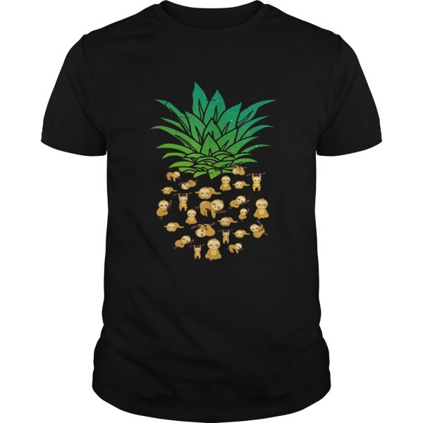 Sloth Pineapple shirt Shirt