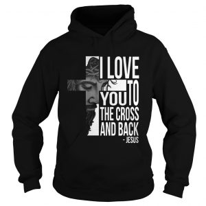 Jesus I Love You To The Cross And Back Shirt Ladies V-Neck