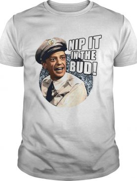 Andy Griffith Icon Nip It Adult shirt