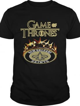 Game of Thrones New Orleans Saints mashup shirt