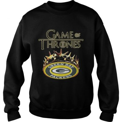 Green Bay Packers Game Of Thrones Crown sweatshirt