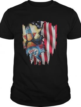 Independence Day 4th of July Miller Lite America Flag shirt