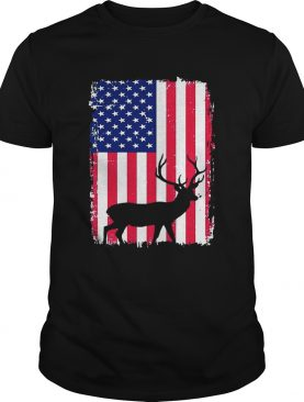Independence Day Hunting American Flag Shirt