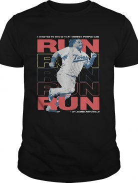 La tortuga willians astudillo chubby people can run shirt