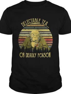 Avatar Delectable tea or deadly poison sunset shirt