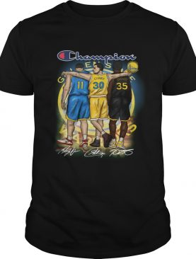 Golden state warriors champion thompson curry durant shirt