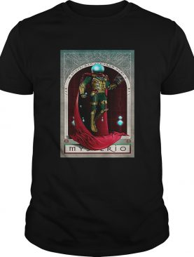 Marvel Spiderman Far From Home Mysterio Tarot Card shirt