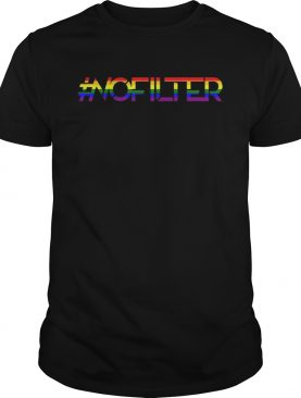 No Filter Band Pride Shirt