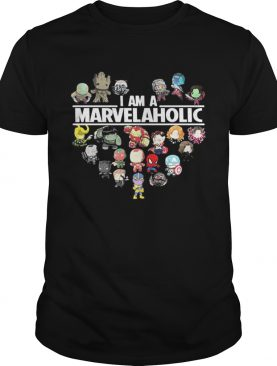 Premium I am a Marvelaholic Marvel Universe shirt