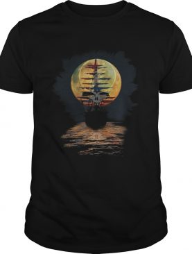 Ship of fools Pirates of the moon Christian Grateful Dead steal your face shirt