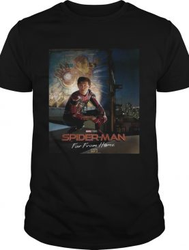 SpiderMan Far From Home poster Iron Man shirt
