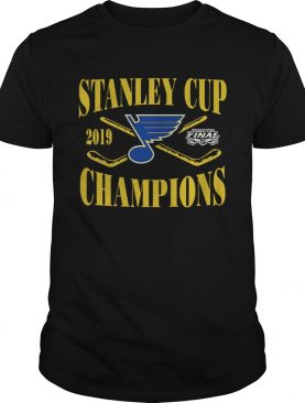 St Louis Blues Champions 2019 Stanley Cup Shirt