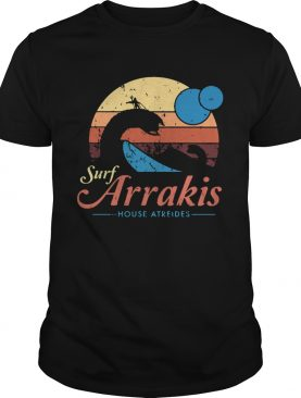 Surf Arrakis House Atreides retro shirt
