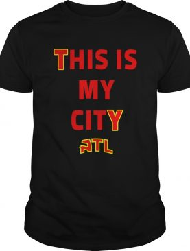 Trae Young This Is My City ATL Shirt