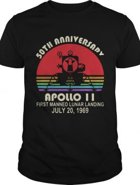 50th Anniversary apollo 11 first manned lunar landing July 201969 shirt