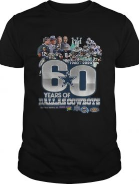 60 years of Dallas Cowboys 1960 2020 Super Bowl 6 shirt