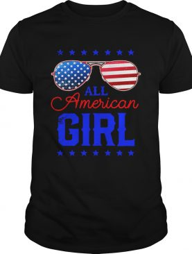 All American Girl 4th of July Family Matching Sunglasses shirt