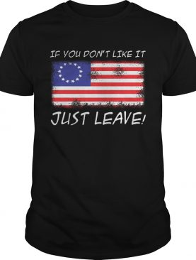 America Flag if you dont like it just leave shirt