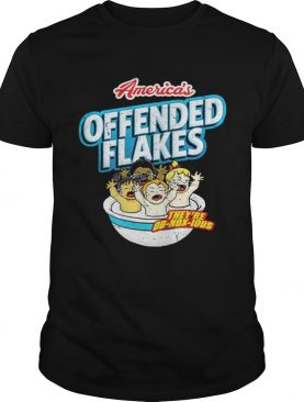 Americas Offended Flakes shirt