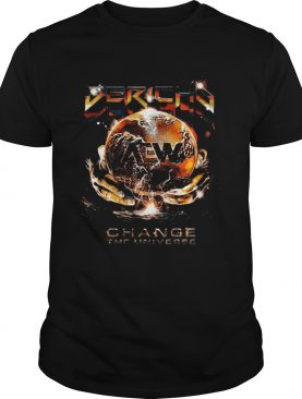 Chris Jericho AEW All Elite Wrestling change the universe shirt