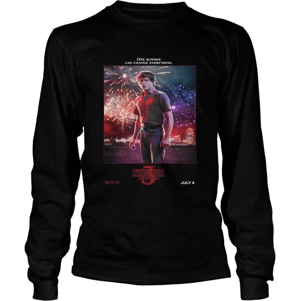 Jonathan Byers One Summer Can Change Everything Stranger Things LongSleeve