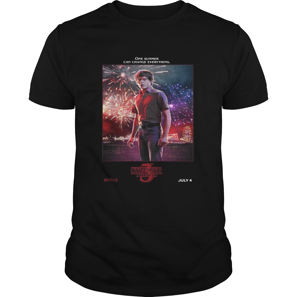 Jonathan Byers One Summer Can Change Everything Stranger Things Unisex