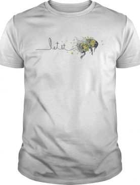 Let It Bee Sunflower Hippie shirt