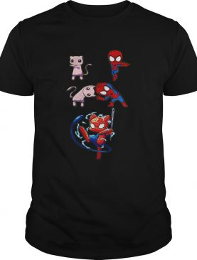 Mew Fusion Dance Spiderman SpiderMew shirt