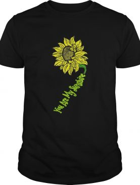 Premium You Are My Sunshine Sunflower shirt