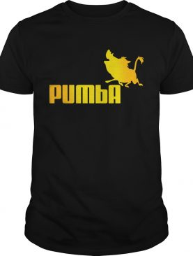 Stranger Things 3 Pumbaa Lion King Puma parody shirt