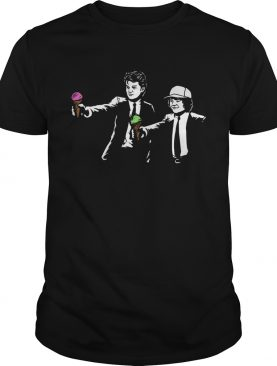 Stranger Things 3 Scoops Troops Fiction shirt