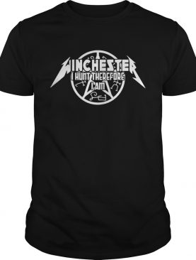 Winchester I hunt therefore I am shirt