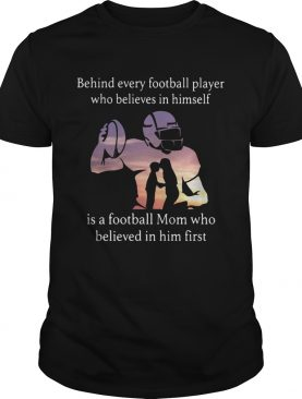 Behind every football player who believes in himself is a football shirt