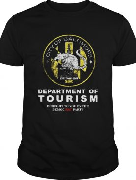 City of baltimore department of Tourism shirt