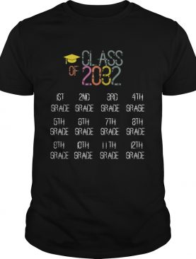 Class of 2032 Grow With Me TShirt