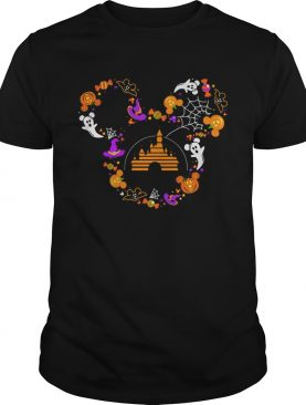 Disney Mickey Mouse ghost Halloween shirt