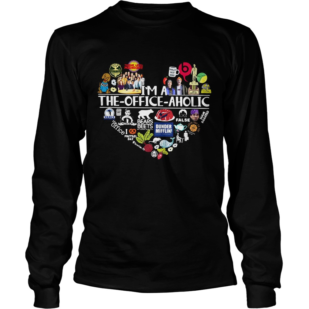 Im a The Office aholic LongSleeve