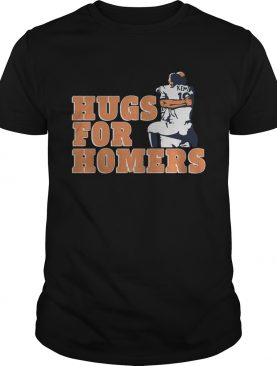 Tony Kemp And Evan Gattis Hug For Homers Shirt