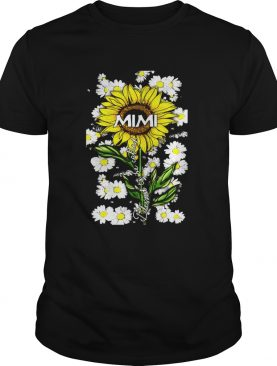 Blessed to be called mimi Sunflower daisy shirt