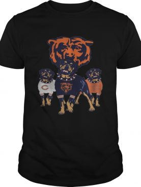 Chicago Bears Rottweiler Dog Shirt