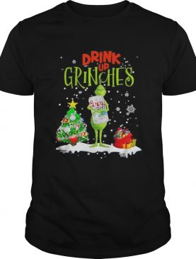 Drink up Grinches Christmas Coors Light shirt